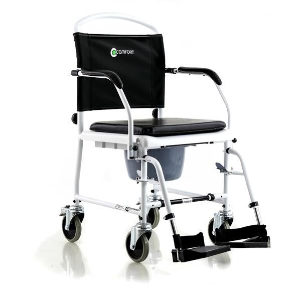 『福利品出清』康而富時尚輔具 CT-156 PVC版便器椅 兩用居家照護  浴室 便盆