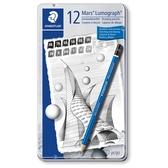 施德樓 頂級藍桿繪圖鉛筆組-12支入/ 組 MS100G12