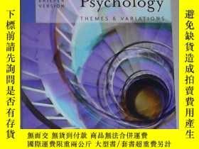 二手書博民逛書店原版罕見Psychology:Themes and Variat