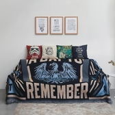 沙發套 熱賣美式潮流沙發巾靠背巾北歐雙人三人沙發蓋布沙發罩全蓋【快速出貨】