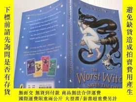 二手書博民逛書店The罕見worst witch saves the day:最壞的女巫挽救了局面Y200392