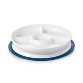 OXO tot 好吸力分隔餐盤-莓果粉/海軍藍/靚藍綠