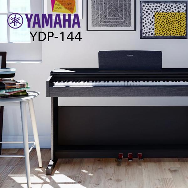 小叮噹的店-YAMAHA YDP-144 山葉 88鍵 滑蓋式 數位鋼琴 電鋼琴 原廠公司貨
