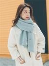 圍巾女冬季毛線韓版加厚...