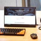 Gobigger4k便攜式顯示器zb156錘子筆記本外接觸控分屏幕SwitchPS4 【全館免運】