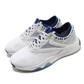 Reebok 訓練鞋 HIIT TR 白 藍 女鞋 多功能 運動鞋 襪套式 CrossFit專用 【ACS】 FW8730