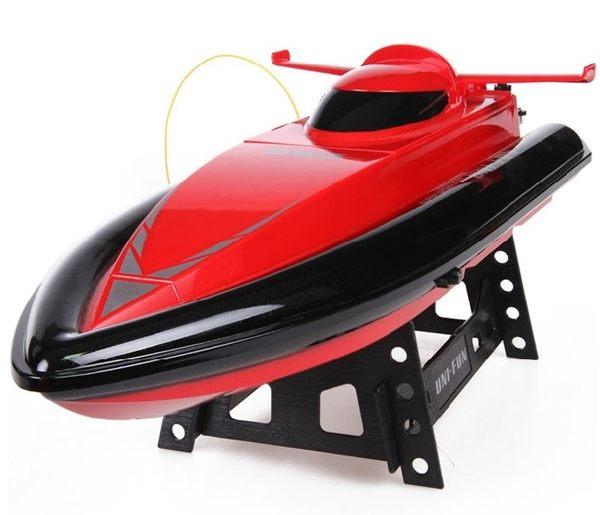 食尚玩家 遙控船高速沖浪快艇遙控船模型可充電戲水玩具船