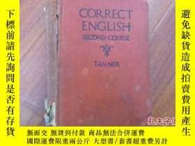 二手書博民逛書店《correct罕見english second course》