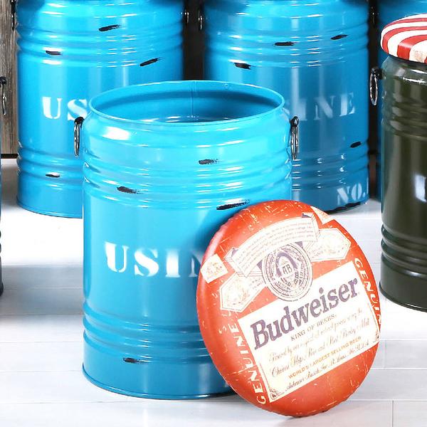 啤酒藍水桶收納椅凳(18JF/187-2)【DD House】