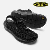 KEEN 女款 織帶涼鞋Uneek 1014099 / 城市綠洲 (編繩結構、輕量、戶外休閒鞋、運動涼鞋)