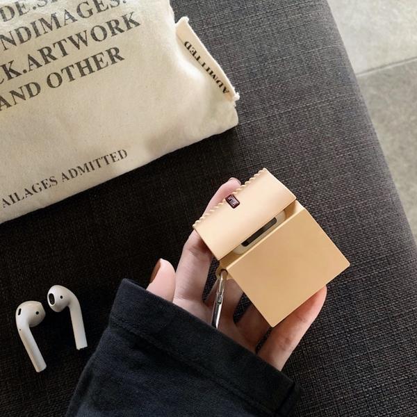 Airpods Pro 專用 1/2代 台灣發貨 [ 無印良品紙袋 ] 藍芽耳機保護套 蘋果無線耳機保護