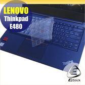 【Ezstick】Lenovo ThinkPad E480 奈米銀抗菌TPU 鍵盤保護膜 鍵盤膜