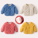 寶寶外套秋冬加絨棉衣男童加厚衣服2019新款兒童女童棉服嬰兒冬裝