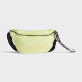 ADIDAS 腰包 螢光綠 LOGO 黑白 背帶 基本款 (布魯克林) FL9624