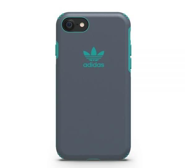 【adidas】iPhone 7/i7(4.7吋)-灰色 TPU Hard Cover 雙材質手機/雙層鎧甲/超耐摔全面防護