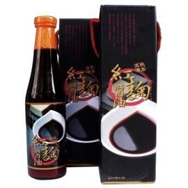 台灣綠源寶 天然養生 紅麴醬油  (420ml)   12瓶
