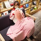 【限時下殺89折】午睡枕頭汽車抱枕被子兩用三合一毯子辦公室靠墊沙發珊瑚絨空調被