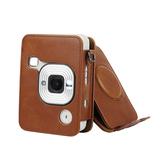 富士 mini liplay 復古皮套 相機包