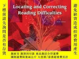 二手書博民逛書店Locating罕見And Correcting Reading Difficulties (9th Editio