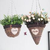 墻面裝飾品花瓶壁掛組合墻上掛件家居飾品