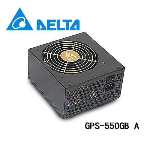 台達 實在力量 GPS-550GBA 80+銅牌 / 120mm風扇 550W 電源供應器 (新版 GPS-550-LBE)