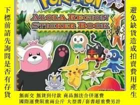 二手書博民逛書店Pokémon罕見Alola Region Sticker BookY410016 The Pokemon C