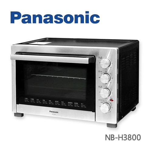 【靜態陳列 無使用 售完為止】Panasonic 國際牌 NB-H3800 38L 上下雙溫控電烤箱