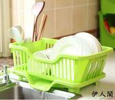 碗架瀝水放碗架2層雙層置物架筷 伊人閣