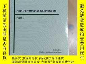 二手書博民逛書店High-Performance罕見Ceramics Vll P