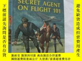 二手書博民逛書店The罕見Secret Agent on Flight 101