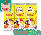 ●光泉果汁牛乳200ml(24罐/箱)【合迷雅好物超級商城】