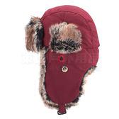 Snow Travel 雪之旅 AR-55酒紅 極地保暖遮耳帽 極地帽/雪地帽/保暖毛帽/遮耳帽/滑雪保暖帽