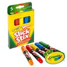 美國Crayola繪兒樂 超滑順旋轉蠟筆5色 麗翔親子館