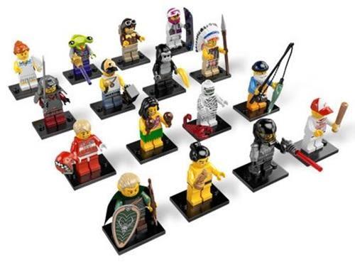 LEGO 樂高 Minifigure 8803 Series 3 - Complete Set of 16