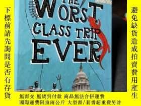 二手書博民逛書店英文原版:the罕見worst class trip everY
