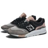 NEW BALANCE 997H 黑 灰粉麂皮 拼接 休閒鞋 女 (布魯克林) CW997HAL
