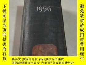 二手書博民逛書店THE罕見ENGINEERING INDEX 1956 工程指標