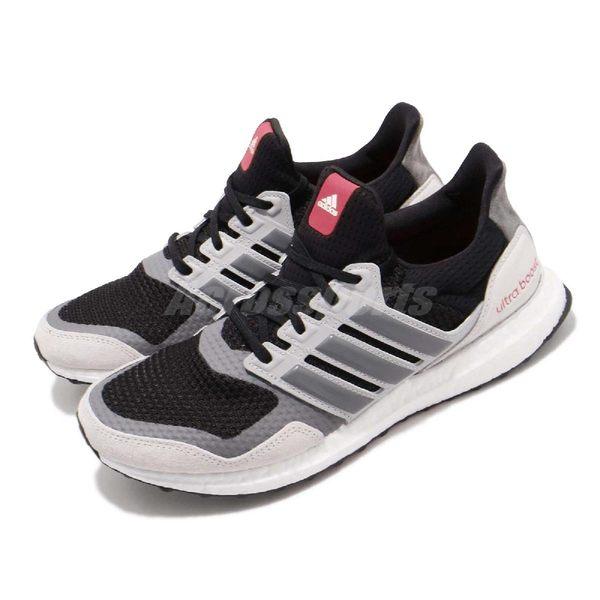 adidas 慢跑鞋 UltraBOOST S L 灰 黑 舒適避震 男鞋 運動鞋 【PUMP306】 EF0720