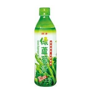 津津 綠蘆筍汁飲料 600ml【康鄰超市】