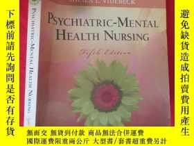 二手書博民逛書店Psychiatric-Mental罕見Health Nursi