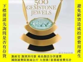 二手書博民逛書店500罕見Gemstone JewelsY364682 Lark Books Lark Crafts 出版2