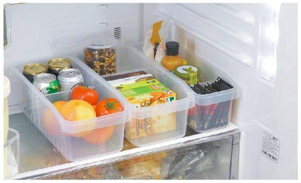 【好市吉居家生活】嚴選聯府KEYWAY~D-68 (中)冰箱收納盒(附隔板) 置物 收納