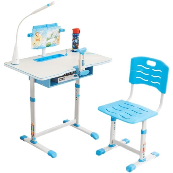兒童學習桌課桌椅套裝可升降寫字台家用臥室簡約高檔書桌作業桌 「免運」
