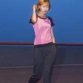 瑜珈服套裝(兩件套)-時尚拼色吸濕速乾女運動服3色73ry16[時尚巴黎]