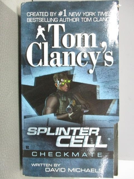 【書寶二手書T2/原文小說_NPO】Splinter Cell_Tom Clancy s