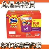【免運費】【好市多專業代購】 Tide 汰漬 洗衣膠囊 春天草地香 42顆 X 4入