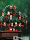 燈籠 小紅燈籠吊燈中國風掛飾結婚喜慶樹上戶外過年過新年春節裝飾掛件 NMS小明同學