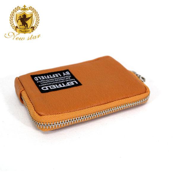 零錢包 質感拉鍊零錢包 防水帆布 Porter風 NEW STAR CA61