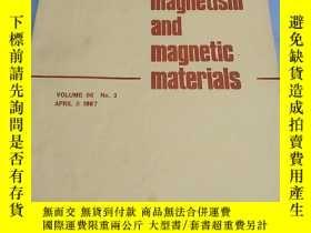 二手書博民逛書店磁性與磁性材料雜誌(journal罕見of magnetism and magnetic materials) 1