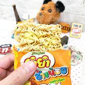 【泰國 YUM YUM CHANG NOI 】小象麵--玉米風味 一袋6包 (橘)22g  A22  單包